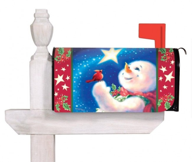 Frosty Magic Magnetic Mailbox Cover