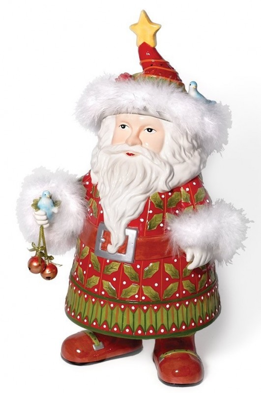 Krinkles Santa Cookie Jar