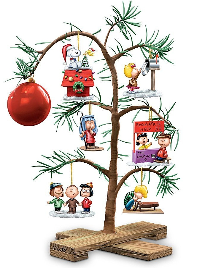 Peanuts Classic Holiday Memories Tabletop Tree Christmas