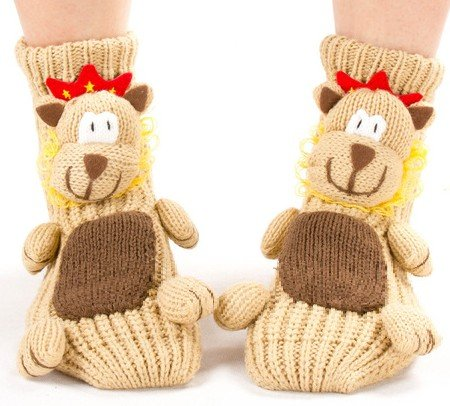 Warm Cartoon Christmas Stocking Christmas Gift Sock