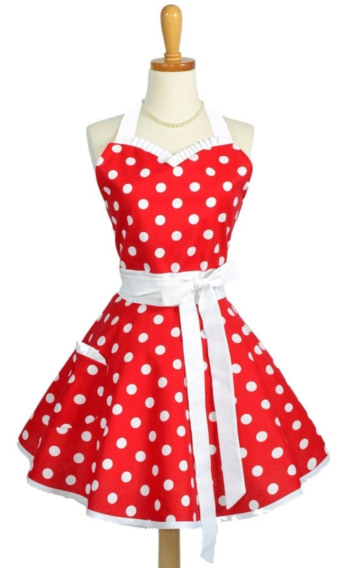 Women's Sweetheart Apron