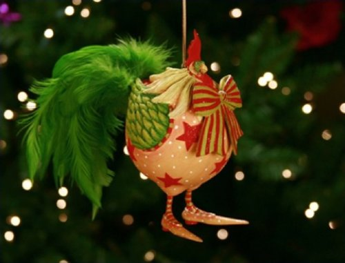 r Donald The Rooster Ornament