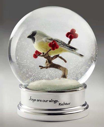 Bird Snow Globe