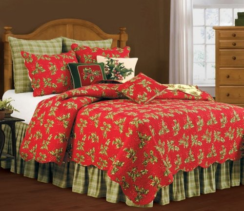 Christmas King Size Quilt Set