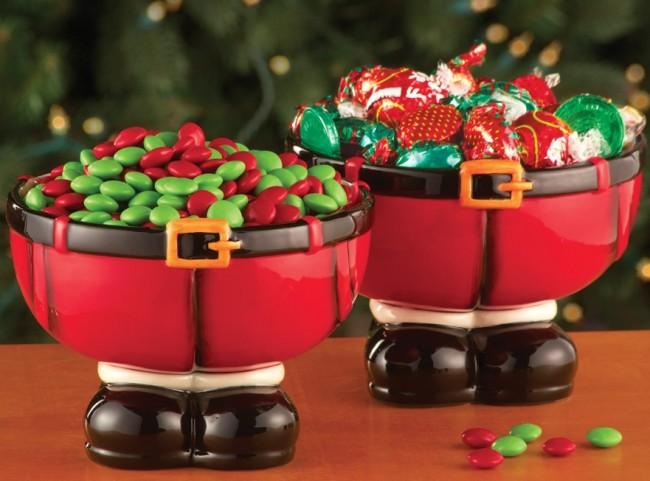 Christmas Santa Pants Jolly Belly Bowls