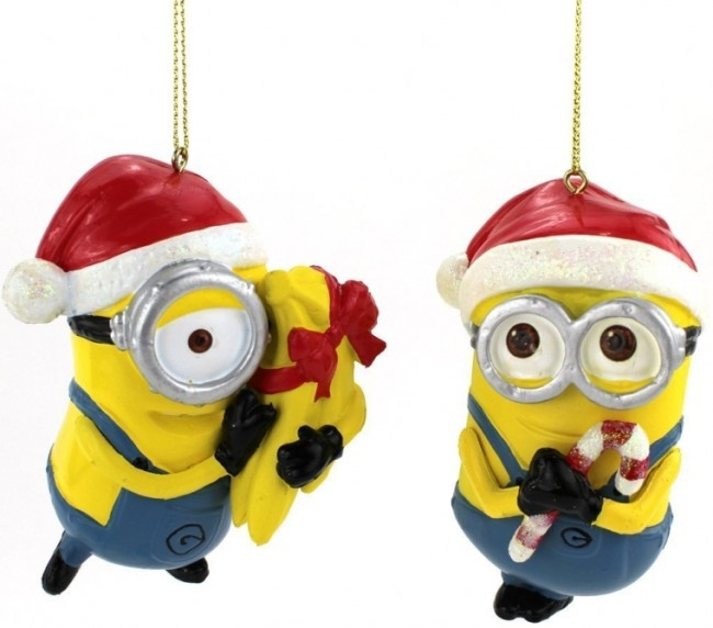Despicable Me Dave  Carl Blow Mold Ornaments