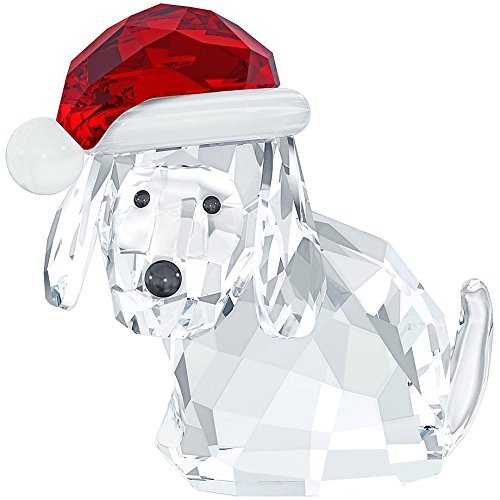 Dog with Santa's Hat
