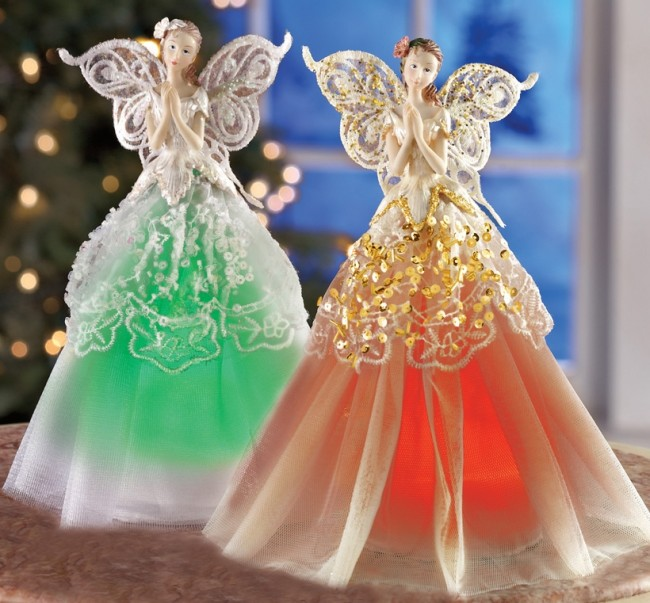 LED Color Changing Heavenly Angel Decoration