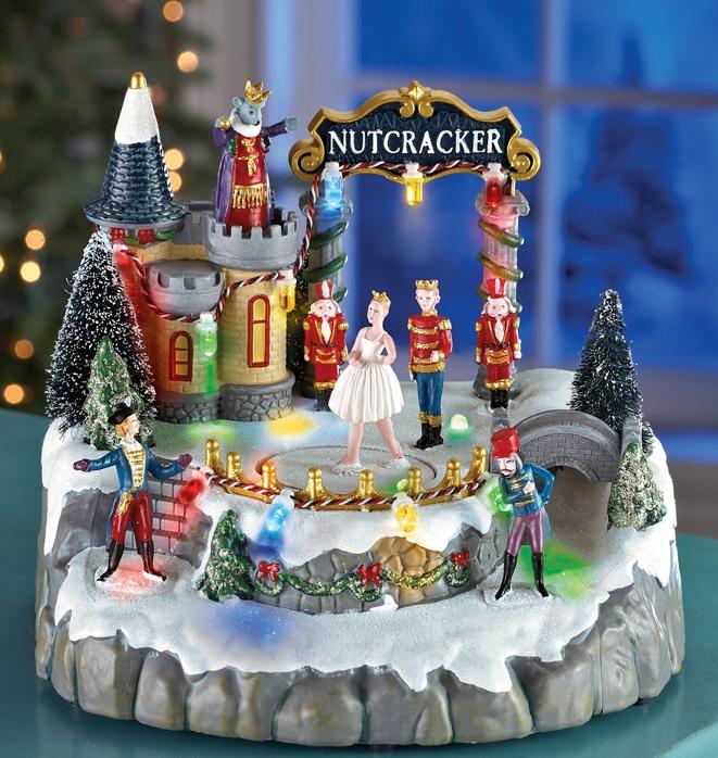 Christmas Ice Skating Rink Decoration: Christmas