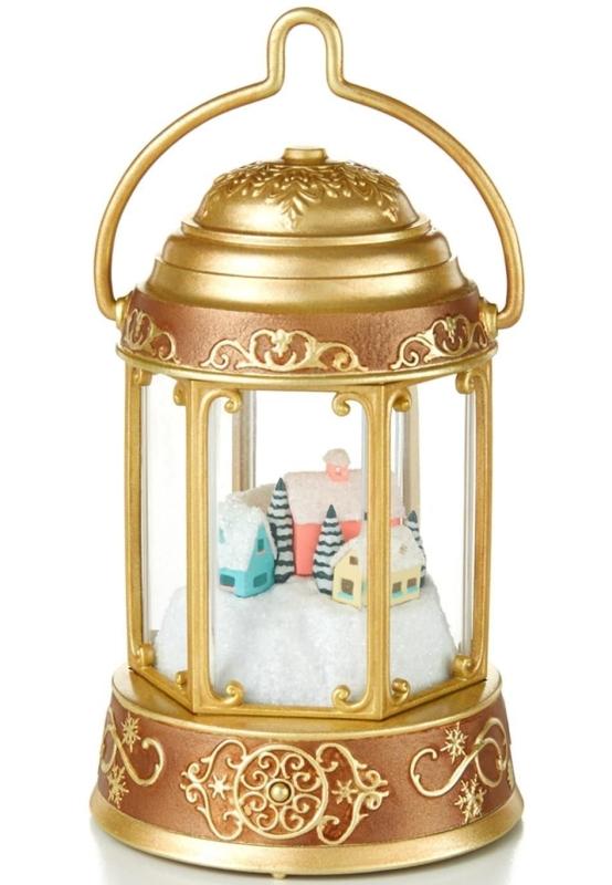 Santa Magic Lantern Ornament