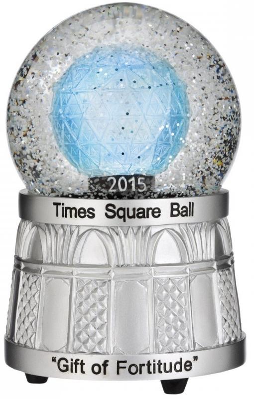Times Square 2015 Snowglobe