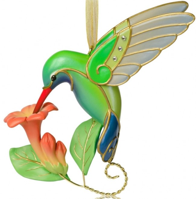 Winged Wonder - Hummingbird Ornament