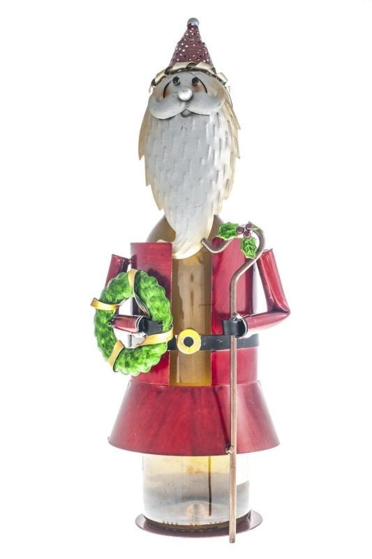 Fabulous Santa Claus Wine Bottle Holder