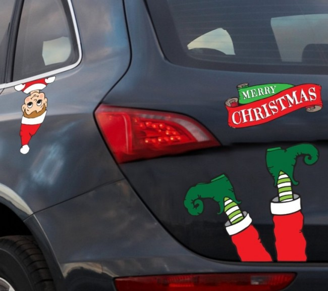 Hilarious Christmas Automobile Decoration