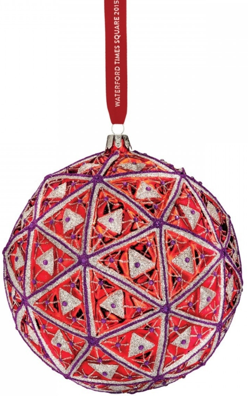 Waterford Times Square 2015 Masterpiece Ball Ornament