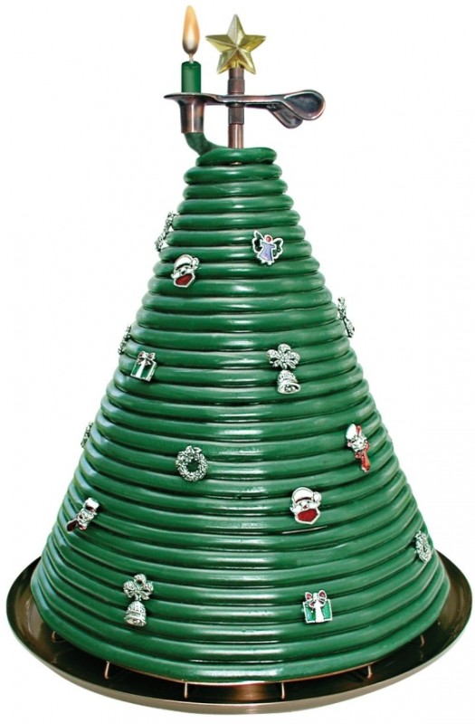 300-Hour Christmas Tree Candle
