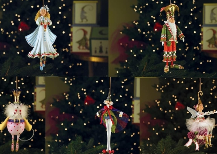 Nutcracker Ornament Set