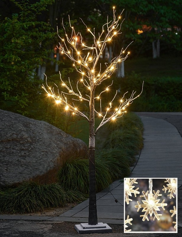 10L LED Snow Flake Decoration Light,HomeFestivalPartyChristmas,Indoor and Outdoor Use