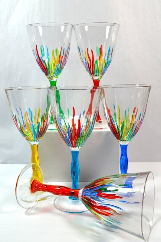 Authentic Italian Wine Glasses