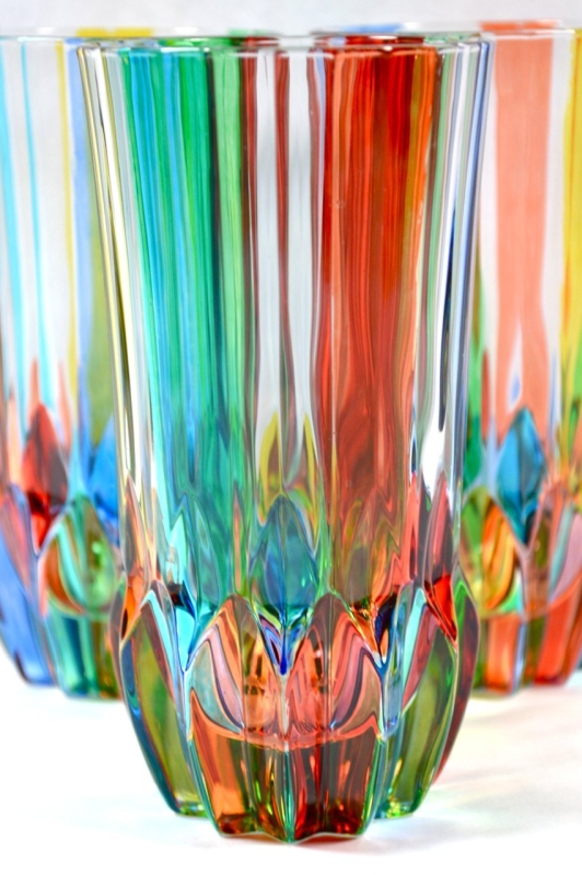 Swatch Colored Murano Glass