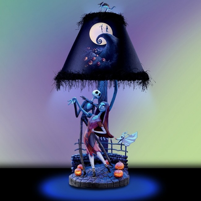 The Nightmare Before Christmas Moonlight Table Lamp