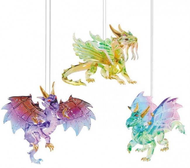 WINGED DRAGON Ornament