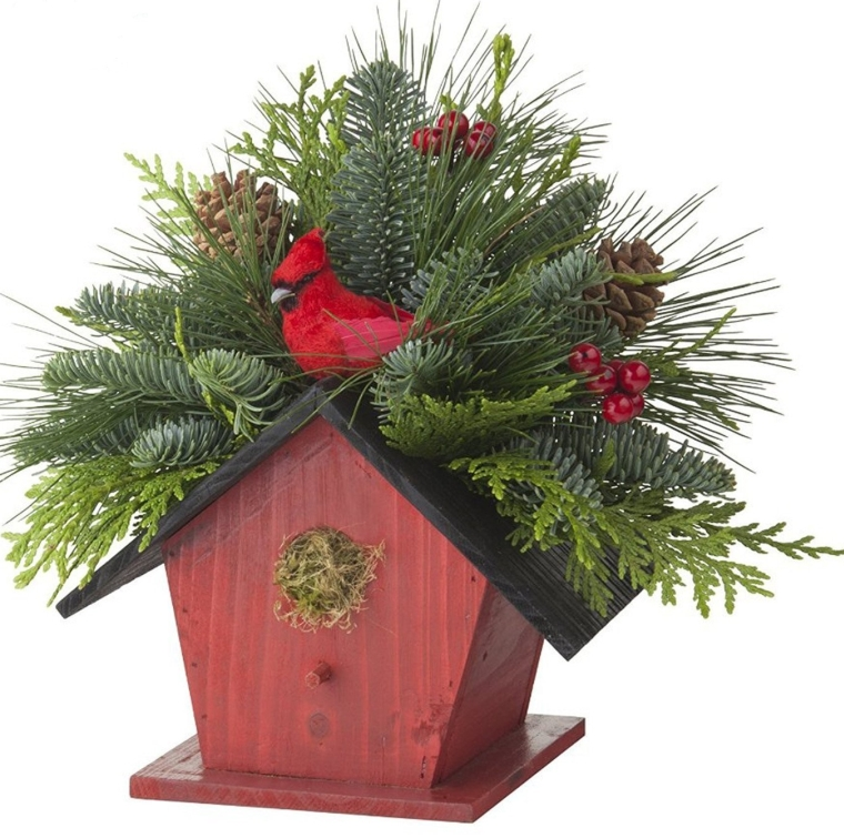 Birdhouse Centerpiece