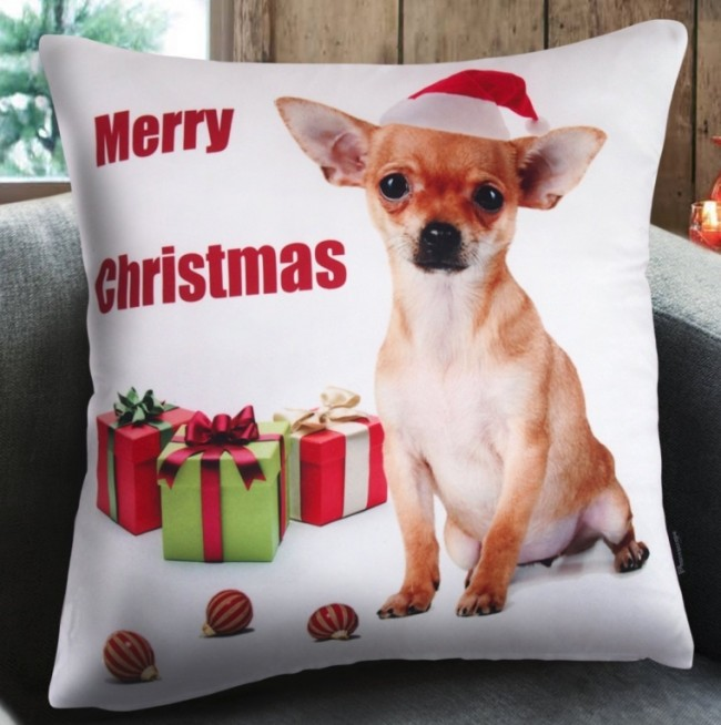 Dog Series Decorative Throw Pillow