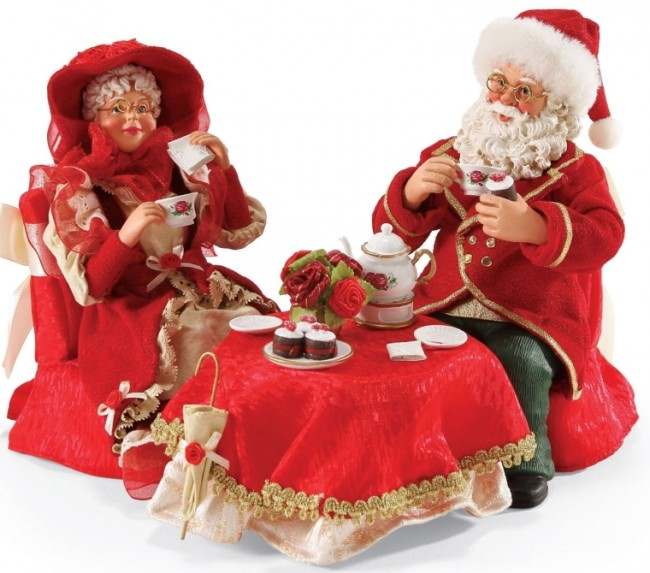 Dreams Christmas Santa's Sweethearts Figurine