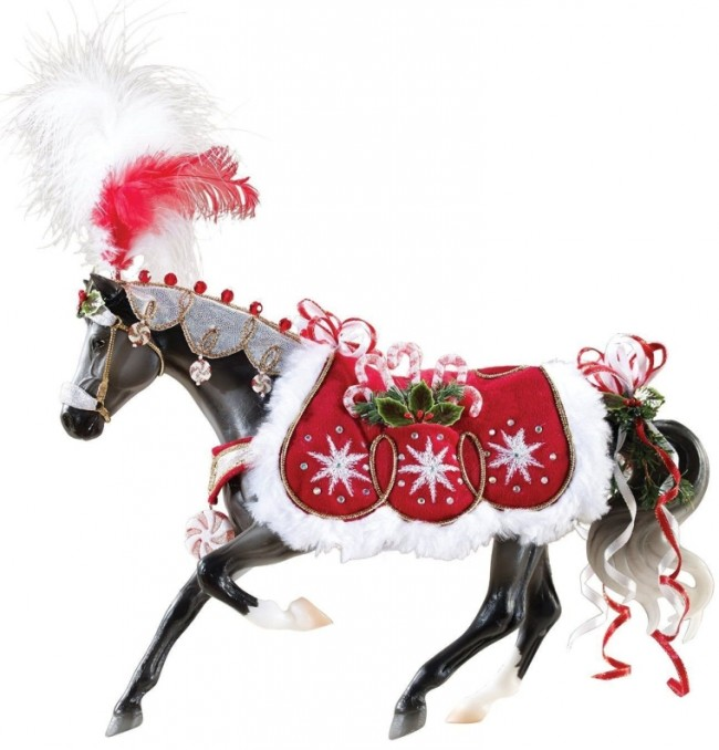 Holiday Horse Peppermint Kiss Doll