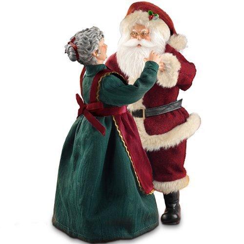 Musical Santa Claus Christmas Figurine