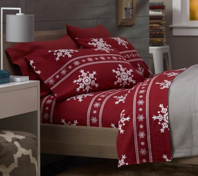 Pinzon Lightweight Cotton Flannel Sheet Set