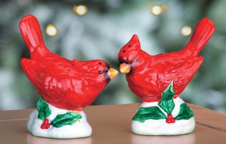 Salt & Pepper Cardinal Shakers
