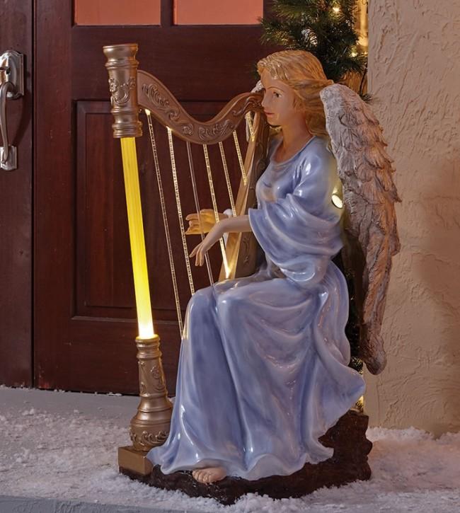 The Symphonic Illuminated Angelic Harpist
