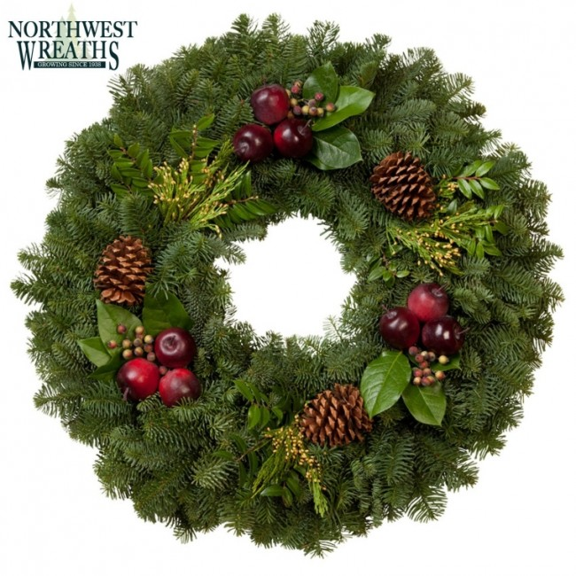 24 Countryside Wreath