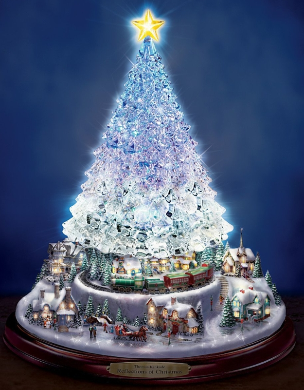 Crystal Tabletop Christmas Tree Christmas