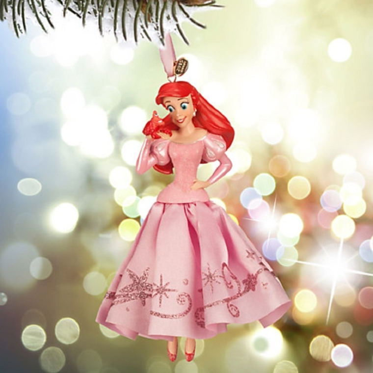 Ariel sketchbook ornament princess sebastian christmas for Ariel christmas decoration