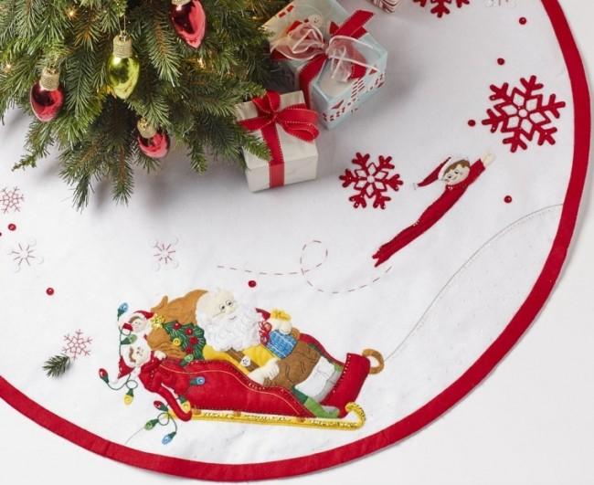 Elf on the Shelf Santa & Scout Felt & Sequin Kit