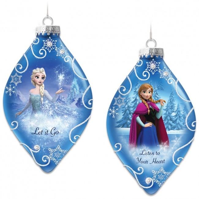 Frozen Christmas Tree Ornaments Set Christmas