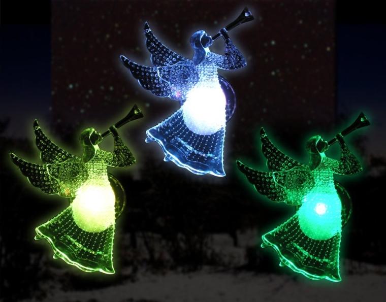 Led Angels Color Changing Lights Christmas