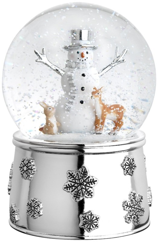 Mr. Snowman and Friends Snow Globe