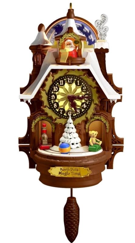Santa's Magic Cuckoo Clock Ornament
