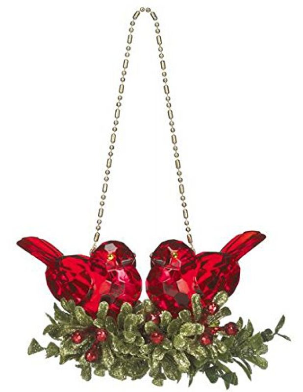 kissing-kyrstal-ball-ornament-double-cardinal-bird-mistletoe