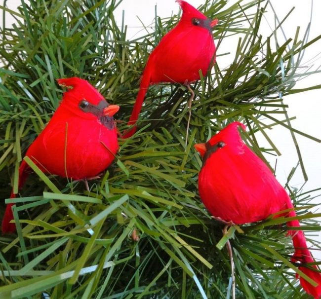 cardinal-birds-for-christmas-tree-ornaments