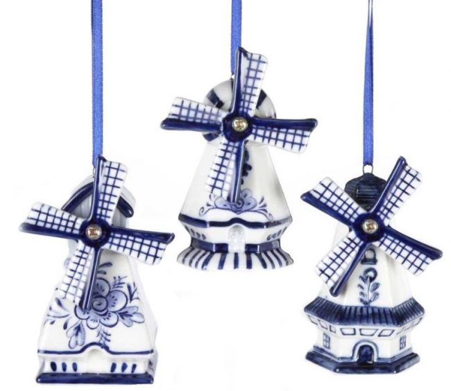 delft-blue-windmill-ornaments