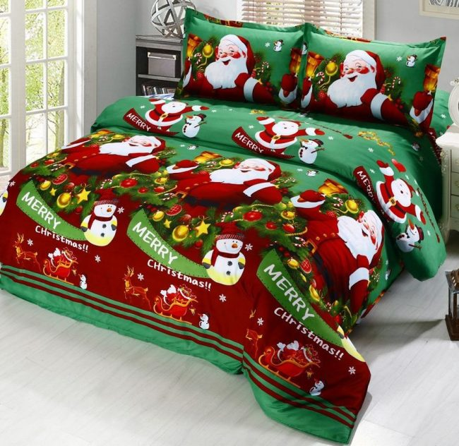merry-christmas-santa-claus-comfort-bedding-sets