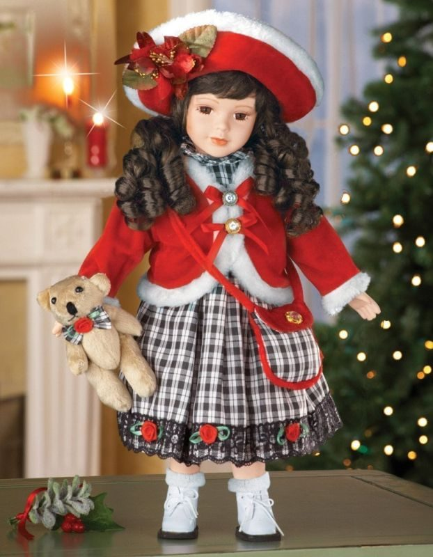 porcelain-holiday-doll