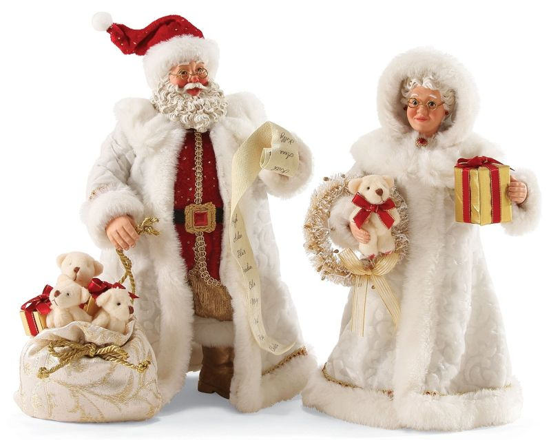 Possible Dreams by Ruby Anniversary Pair Santa