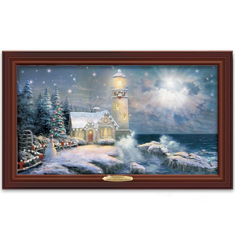 Christmas part 8 - Home interiors thomas kinkade prints ...