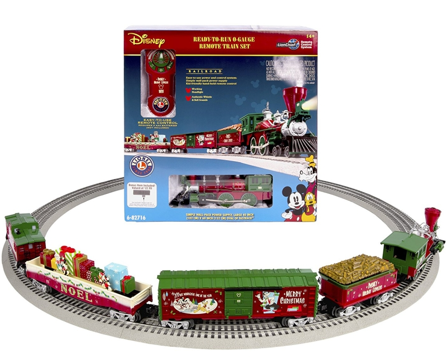 Lionel Mickeys Holiday to Remember Disney Christmas Set